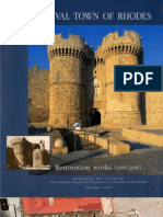Medieval Town of Rhodes, Restoration Works (1985-2000)_Part Two