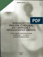 Imagem Corporal_obesidade Em Crianças_livro