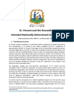 INDC - Saint Vincent and the Grenadines, November 2015