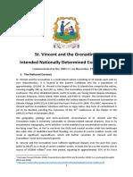 INDC - Saint Vincent and the Grenadines, November 2015