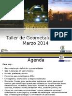Workshop Geometalurgia MGLC