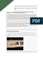 MKIV Jetta -REMOVING FRONT DOOR PANEL