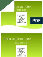 stem kick-off day grade level meetings