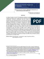 Micaelson, José. Regiões Metropolitanas Do Ceará - Dispersão Produtiva e Concentração de Serviços