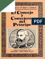 Furio Ceriol, Fadrique - El Concejo y Consejeros Del Principe