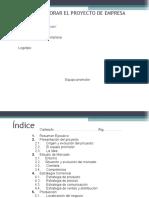Tutorial Para Elaboración Proyecto Empresarial