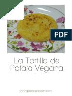 La Tortilla de Patatas Vegana