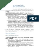 Unidad de Analisis Financiero