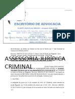 HABEAS CORPUS PETIÇÃO Excelentíssimo Senhor Doutor Juiz de Direito Da 2ª