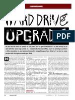 Hard Drive Upgrade