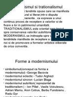 Proiect modernism