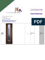 Cotizacion Pinceles Pinstriping