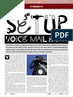 Setup Voice Mail & Fax