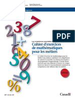 Cahier Exercises Maths