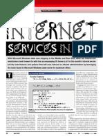 Windows 2000 Internet Service