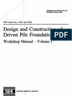 Design and Construction of Driven Piles Vol 1