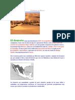 El Desierto en México