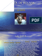 DANZA DE BOLIVIA