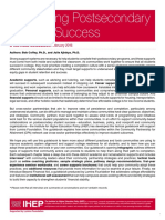 Postsecondary Student Success Guidebook