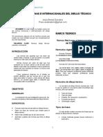 Normas Mexicanas e Internacionales Del Dibujo Técnico