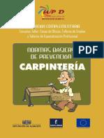 CARPINTERIA, Normas Basicas de Prevencion