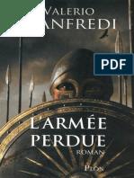 Valerio Manfredi - L'Armée Perdue