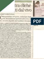 """La Repubblica parla di """"Partorire senza paura"""" di Elisabetta Malvagna"""