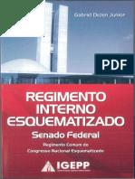 Regimento Interno Esquematizado - Senado Federal - G. D. J