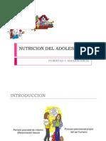 Nutricion en El Adolescente