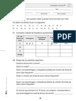 Ficha de Avaliação - 4º Ano Matemática - Mês de Janeiro