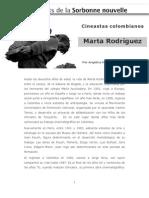 cineastas colombianas Marta Rodríguez