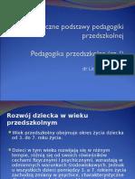 Biopsychiczne Podstawy Pedagogiki Przedszkolnej (1)
