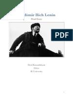 Lenin, Deni Kazandzhyan