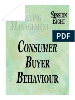 Session 8a - Consumer Buyer Behaviour [Compatibility Mode]