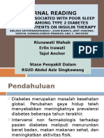 Poorsleepquality in Insulin Therapy