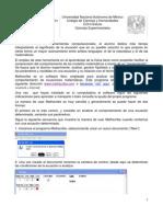 Guía de uso del software Mathscribe