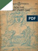 Goethe, JW Von - Faust, Part 1 [Trans. Wayne] (Penguin, 1949)
