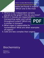 unit 2 module 2 biochemistry day2