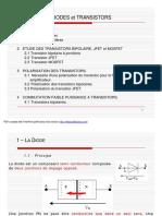 Diodes Et Transistors