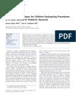 Distraction Techniques for Children Undergoing Procedurs