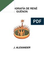 -Alexander-Bibliografía de René Guénon