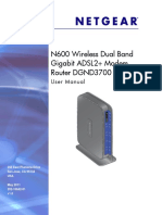 N600 Wireless Dual Band Manual