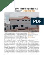 ORÇAMENTO REAL - Telhado Semi-Industrializado x Tradicional