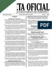 Normas para la Protocolización de Documentos en el Marco de la Gran Misión Vivienda Venezuela.s viviendas