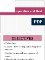 5. Temperature and Heat