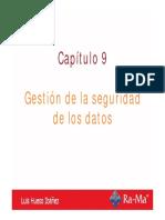 Bases_asir_cap9 Gestión de La Seguridad de Los Datos Luis Hueso Ibáñez
