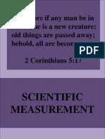 2. Scientific Measurement