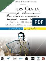Catalogue Premiers gestes. Jeune cinéma de Méditerranée