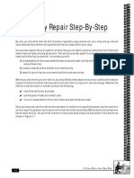 Auto Body Repair Step-By-Step