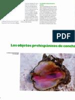 Los Objetos Prehispanicos de Concha de las Islas Venezolanas